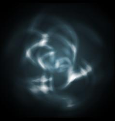 Dark blue abstract wavy art design background vector