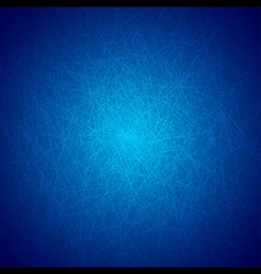 Grunge Texture Background on Blue vector image