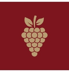 The grapes icon grape grapes wine symbol ui vector