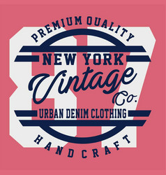 Premium quality new york vector