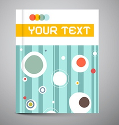 Brochure - book template - layout vector
