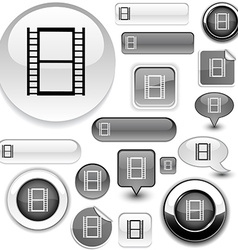 Cinema signs vector image