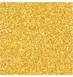 Gold glitter texture Design element vector image