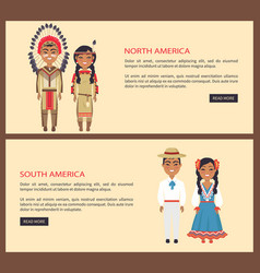 north and south america on vector image vector image