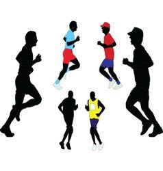 marathon - vector image
