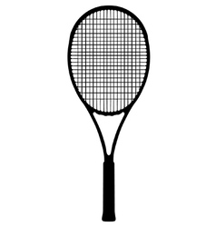 Tennis racquet vector