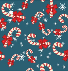 Christmas pattern background design vector image