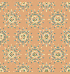 seamless man44 brown vector image