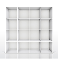 shelf4 vector image vector image