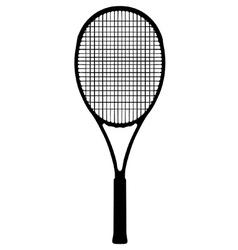 Tennis racquet vector image vector image
