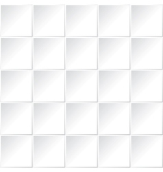 white square pattern vector image vector image