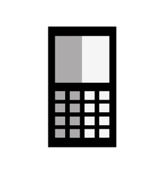 Smartphone cellphone mobile technology icon vector