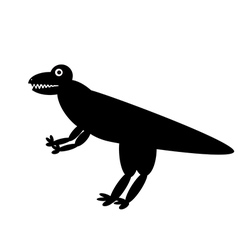 Dinosaur icon vector