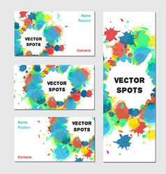Art business card vector