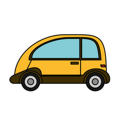 automobile vehicle eco image vector image