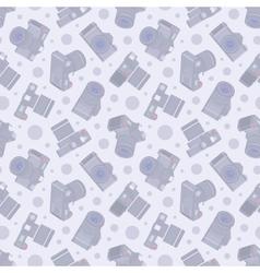 Photo camera seamless pattern vector image vector image