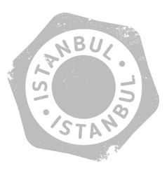 Istanbul stamp rubber grunge vector