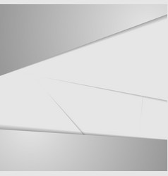 Grey abstract corporate background vector
