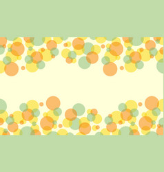 collection of bubble abstract background style vector image