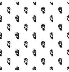 Ear pattern vector