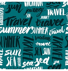 Travel sign seamless vector