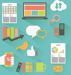 Web analytics vector