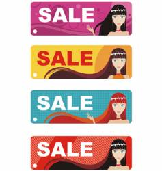 fashion labels vector image