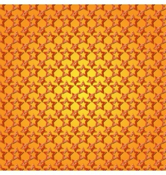 abstract orange background seamless pattern with vector image vector image