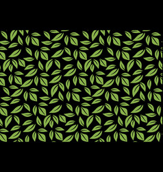 greenery leaf seamless pattern wallpaper vector image