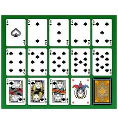 Spades suite vector