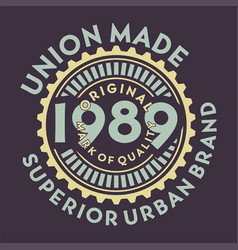 Union made original vector
