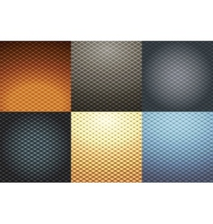 abstract geometricall background set vector image vector image