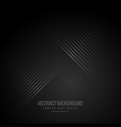 Diagonal lines in black background vector