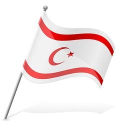 Flag turkish republic of northern cyprus vector
