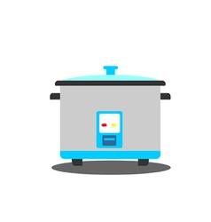 Rice cooker vector