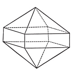 Union of a pyramid and a prism of the same order vector