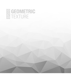 Abstract gradient gray white geometric background vector