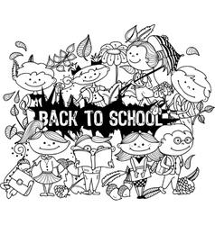 school3 vector image
