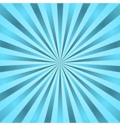 Blue rays poster star burst vector