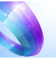 transparent stripes vector image
