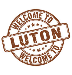 Welcome to luton vector