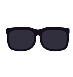 Sunglasses isolated icon design vector