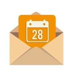 Message calendar mail vector