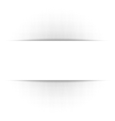 White abstract background gray geometric halftone vector