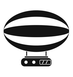 Aerial transportation icon simple style vector