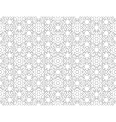 Traditional islamic pattern vector