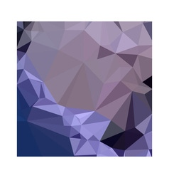 Dark byzantium purple abstract low polygon vector