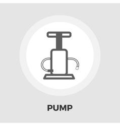 Pump flat icon vector