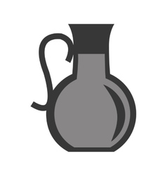 Pitcher with liquid icon vector