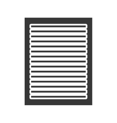 Black paper with white lines graphic vector